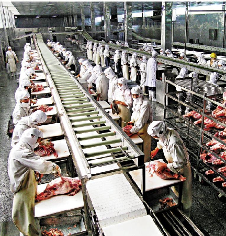 ?冷链运输 湘猪肉屠宰加工可追溯