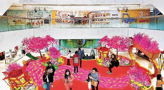 【新春巡禮】世貿中心「孔雀迎春慶豐年」