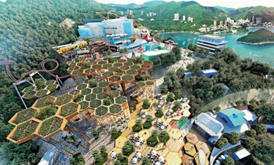 香港海洋公園救亡 擬擴免費區餐飲吸客