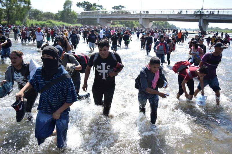 ?阻中美洲移民赴美