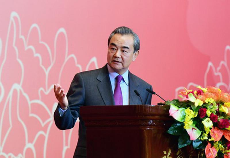 """?王毅:""""一中""""原则是国际社会普遍共识"""