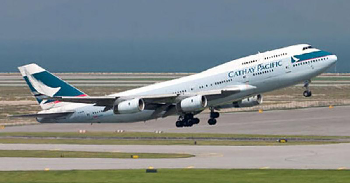 ?武漢肺炎|國泰航空將容許來往內地航班的機組人員戴口罩