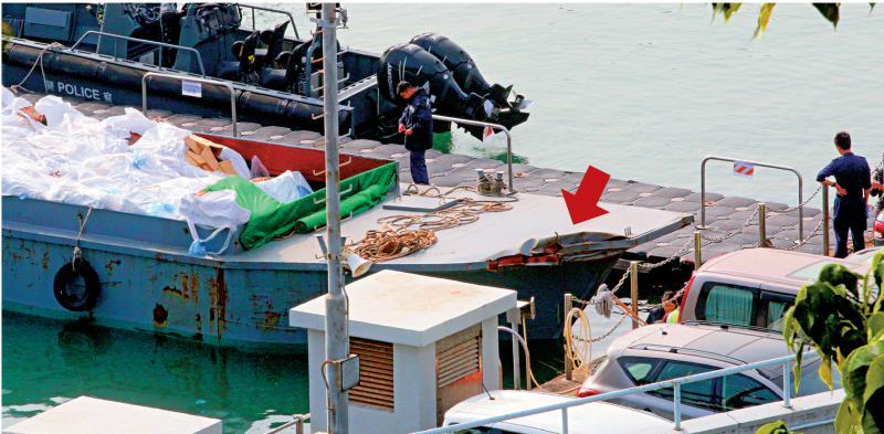 ?三关员翻船殉职 海关下半旗志哀