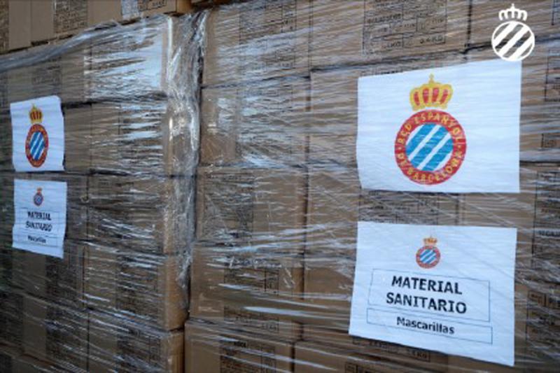 ?助中国抗疫 爱斯宾奴捐45万个口罩