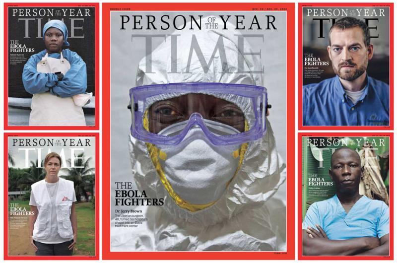 ?堅守第一線 抗伊波拉醫護獲全球景仰