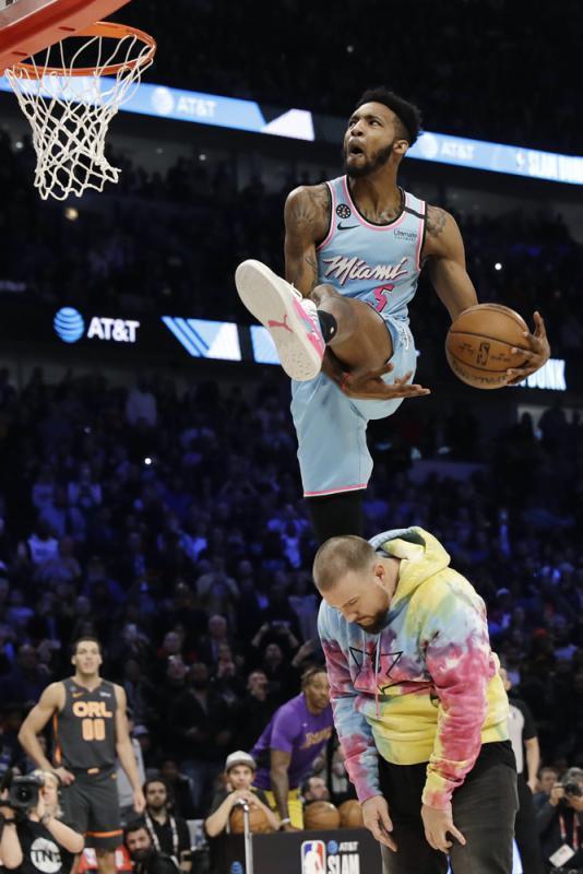 NBA/戴历克锺斯入樽赛称王