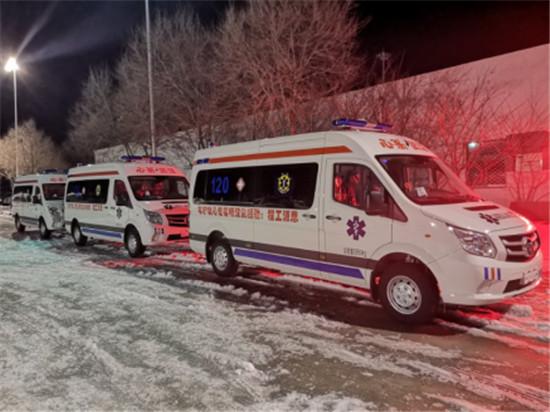 百位明星携思源工程连夜交付援汉第三批负压救护车