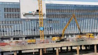 横琴口岸及综合交通枢纽开发工程项目正式复工