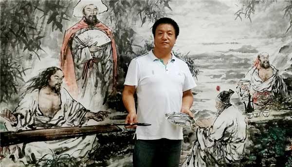 風雨同舟抗擊疫情 著名畫家:牛力生為祖國加油
