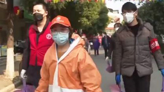 武漢專項招募志愿者 為小區居民代購代送生活用品