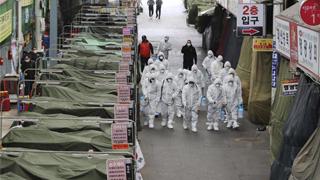 """韩通过""""新冠肺炎三法"""" 可禁止疫情流行地外国人入境"""