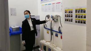 穗写字楼借鉴港经验管理消毒