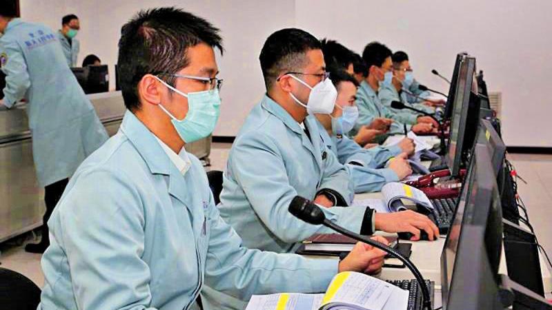中国完成首次火星探测无线联试