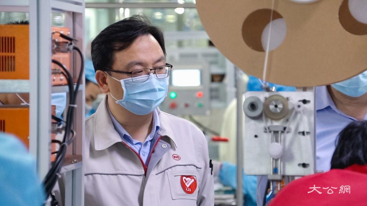 比亚迪与华润万家等6公司签约 将向深圳供应1500万只口罩