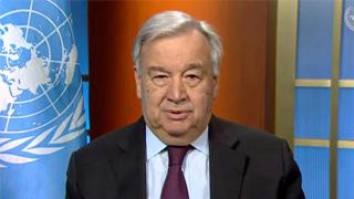 古特雷斯:新冠疫情帶來經濟和人道危機 須全球協調應對