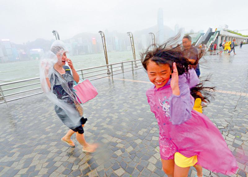 天文台料今年四至七個颱風襲港