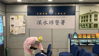 深水埗警署女警初步确诊 无参与前线工作