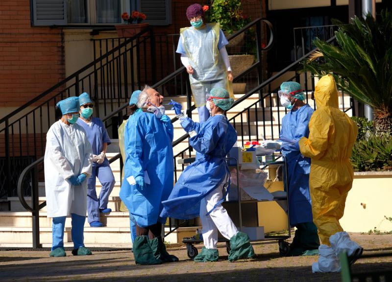 ?意大利研究:当地疫情1月1日起传播