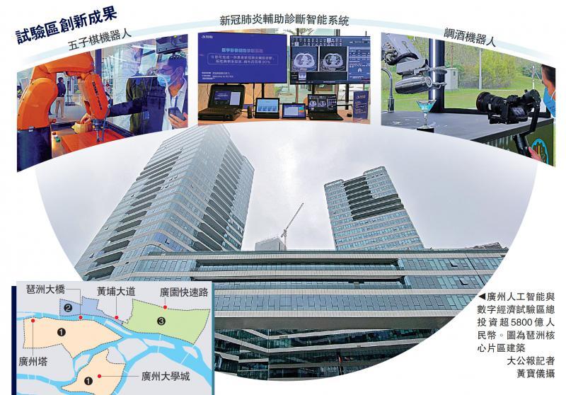 ?广州斥6340亿拓AI数字经济