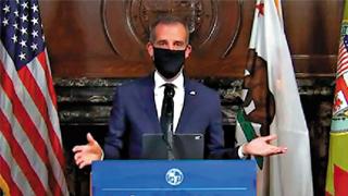 全美开先河 洛杉矶吁戴口罩防疫