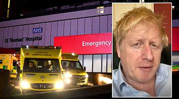 英国媒体:首相尚未接受插管治疗 状况轻于重症患者