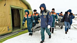 北极圈工地79人感染 俄军机空运野战医院
