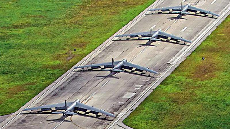 ?美重型轟炸機罕見撤離關島