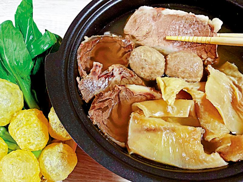 外賣越式牛肉鍋/簡嘉明
