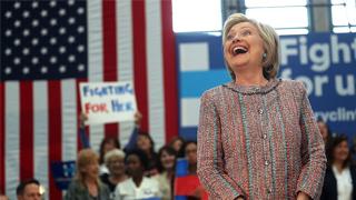 希拉里宣布支持拜登競選美國總統