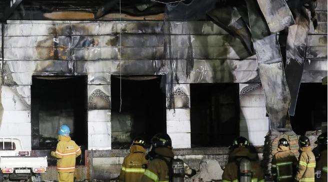 韓國倉庫火災致38死10傷 一名中國公民遇難