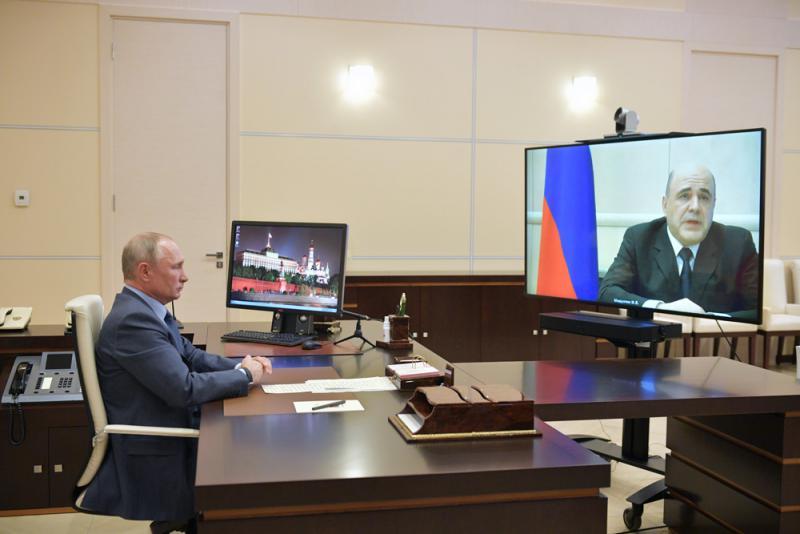 ?俄總理染疫 普京忍不住嘆氣