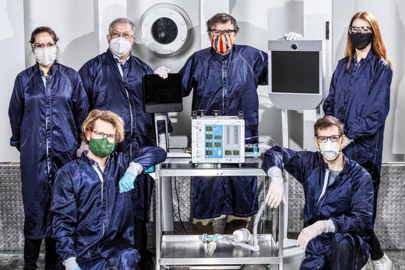 ?NASA研製呼吸機將投入使用