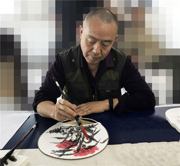 翰墨丹青---著名画家王国强作品赏析