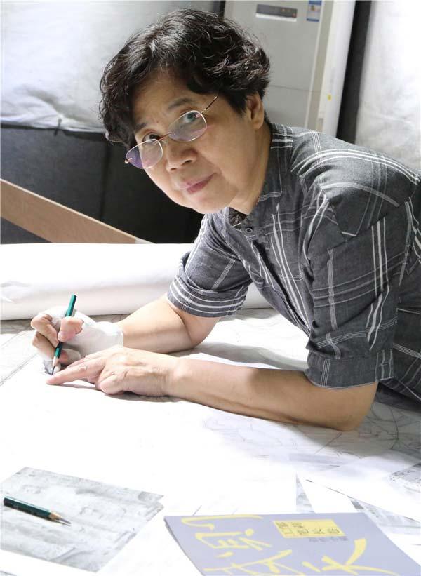 筆墨情緣 中國畫家鄒莉作品賞析