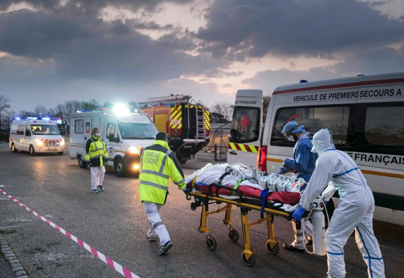 法去年11月现病例 欧美染疫时间前移