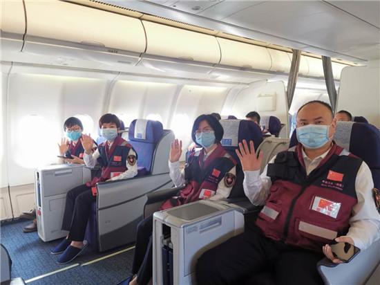 為全球抗疫貢獻湖南力量 中國赴津巴布韋抗疫專家組出征