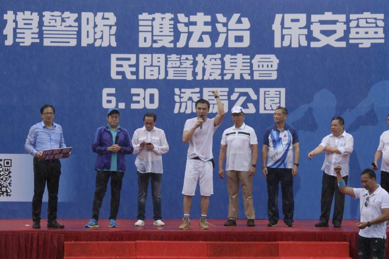 ?譚詠麟:香港要有法治/大公報記者 溫穎芝