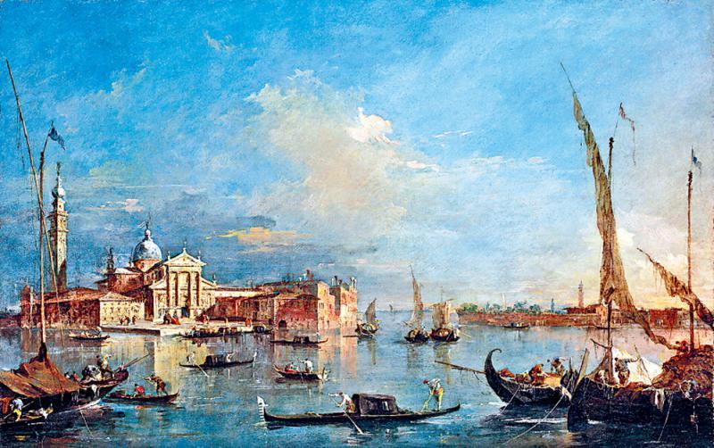 ?藝加之言/《威尼斯:圣喬治奧馬焦雷教堂和朱代卡島》/王 加