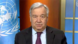 联合国秘书长呼吁抵制种族主义