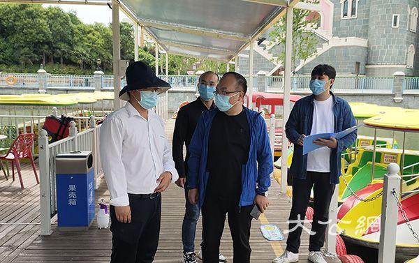 中牟县文化广电旅游局开展旅游景区水域安全检查专项行动