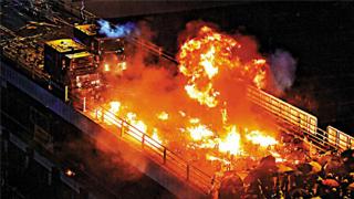 32人被控暴动罪 涉深水埗理大暴乱