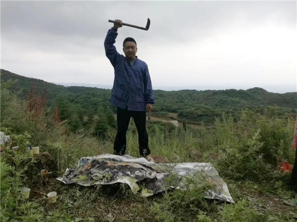 歷史的回聲:畫家韓偉華甘肅水墨實景寫生