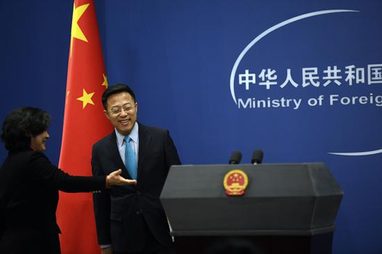 外交部:香港事務純屬中國內政 外國無權干預