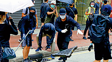 香港五大纪律部�了�肩队密集发声 力挺涉港名�榫劾字楣�家安全立法