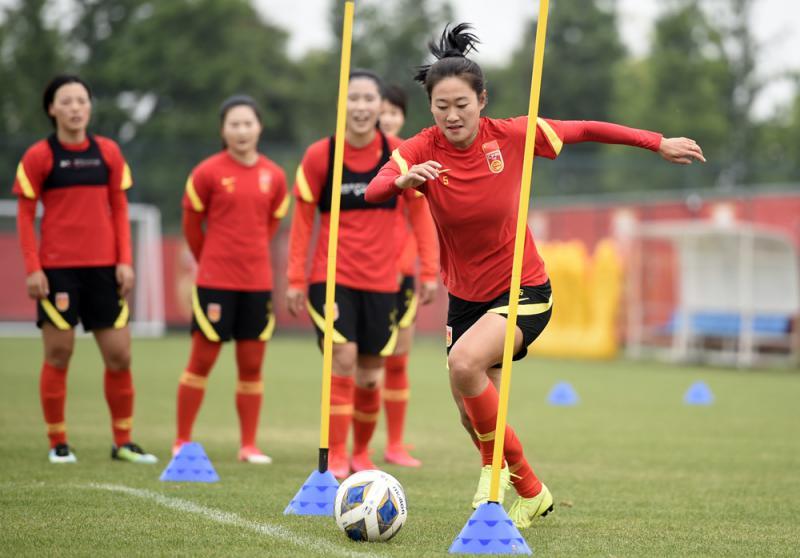 ?中國女足打模擬賽備戰
