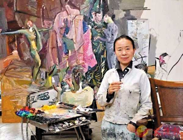 敢遣才情畫布飛——閆平和她的畫作