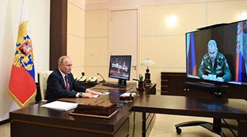 普京结束自我隔离 宣布6月24日举行胜利日阅兵