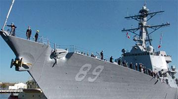 美舰非法闯入西沙领海 南部战区海空兵力对其警告驱离