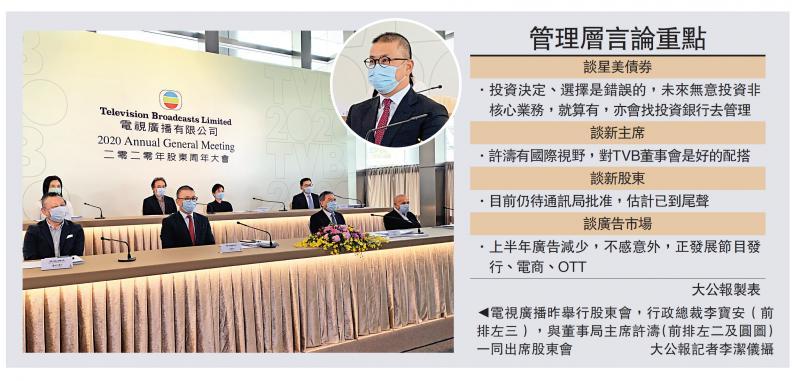 ?TVB上半年廣告大減 無裁員計劃