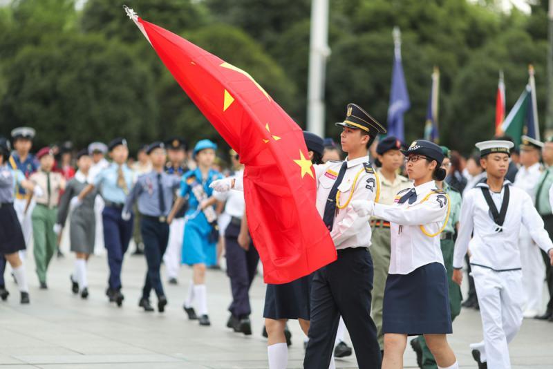 """香港电视本港台直播维护国家安全\""""宣传解读国安法 助港再出发"""""""